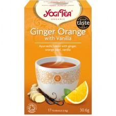 Био аюрведичен чай джинджифил и портокал с ванилия 17 филтъра - Yogi Tea