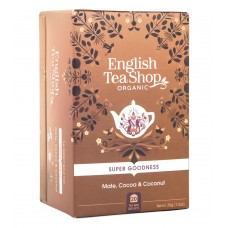 Био чай Мате с кокос и какао 20 пак - English Tea Shop