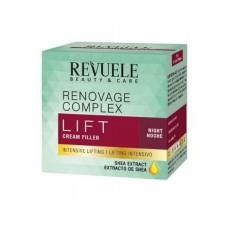 Нощен крем филър за лице с лифтинг ефект 50 мл - Revuele