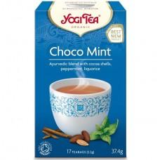 Био аюрведичен чай Шоко мента 17 филтъра - Yogi Tea