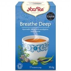 Био аюрведичен чай за дишането 17 филтъра - Yogi Tea