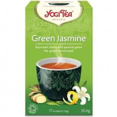 Био аюрведичен чай Зелен с жасмин 17 филтъра - Yogi Tea