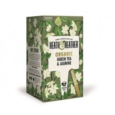 Био зелен чай и жасмин 20 филтъра - Heath & Heather