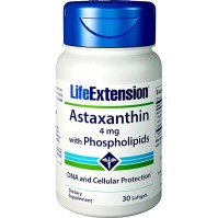 Astaxanthin with Phospholipids 4 mg 30 softgels - LifeExtetntion
