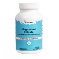 Magnesium Citrate 400 mg 240 tabs - Vitacost