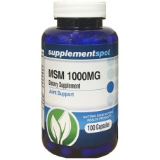 MSM 1000 mg 100 caps - Supplement Spot