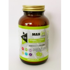 Хранителна добавка VITAMIN C POWDER with Bioflavonoids  240 гр - MAXLIFE Supplements