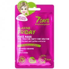 7 DAYS - Щур Петък/Blazing Friday - маска за лице