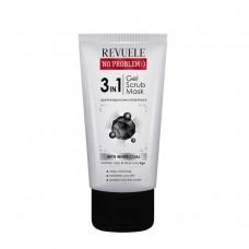 No problem :) гел - скраб - маска за лице с активен въглен 150 мл - Revuele