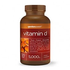 Vitamin D3 5000iu 120 softgels - Newton-Everett