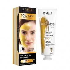 Златна маска за лице с Лифтинг ефект 80 мл - Revuele