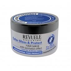 Маска за боядисана коса Color Gloss & Protect 500 мл - Revuele