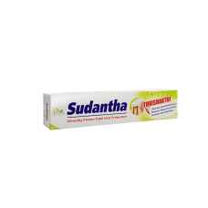 Билкова паста за зъби Sudantha 80 мл - Здраве от Изтока
