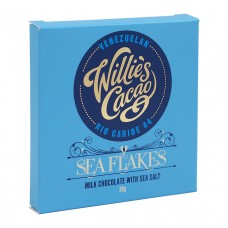 Млечен шоколад с Морска сол 50 г - Willie's Cacao