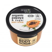 Скраб за тяло Сочна Папая 250 мл - Organic Shop