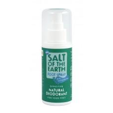 Течен део-кристал спрей за крака 100 мл - Salt of the Earth