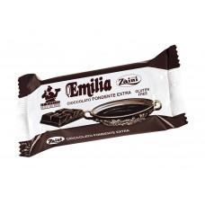 Натурален кувертюр с черен шоколад (мин. 50% какао) 200 г - Emilia