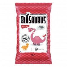 БИО царевичен снакс с кетчуп 50гр  - BioSaurus
