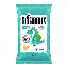 Био Царевичен снакс с Морска сол 50 г - BioSaurus