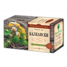 Балкански чай Премиум 20 филтъра - Биопрограма