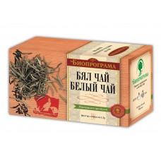 Бял чай Премиум 20 филтъра - Биопрограма