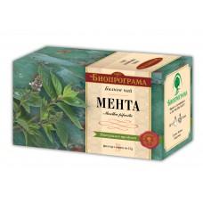 Чай Мента Премиум 20 филтъра - Биопрограма