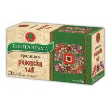 Родопски чай 20 филтъра - Биопрограма