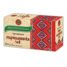 Старопланински чай 20 филтъра - Биопрограма