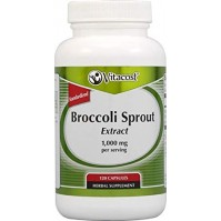 Хранитекна добавка Broccoli Sprout Extract 500mg 120 caps - Vitacost