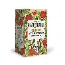 Био чай ябълка и канела 20 филтъра - Heath & Heather