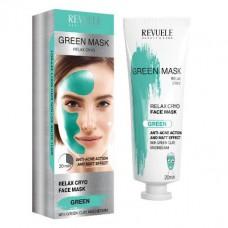Релаксираща маска за лице с крио ефект 80 мл - Revuele