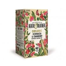 Био чай с ехинацея и червена боровинка 20 филтъра - Heath & Heather