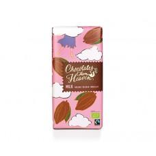 Био млечен белгийски шоколад 100 гр - Chocolate from heaven