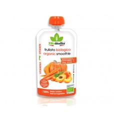 Био смути с тиква, кайсии и морков 120 гр - Bioitalia