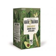 Био зелен чай с авокадо 20 филтъра - Heath & Heather