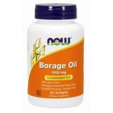 Now Borage Oil (Масло от Пореч) 1000 мг - 60 дражета