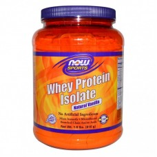 Суроватъчен изолат Now Whey Protein Isolate Ванилия - 908 гр