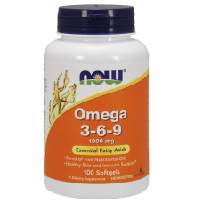 Now Omega 3-6-9 1000 мг - 100 дражета