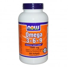 Now Omega 3-6-9 1000 мг - 250 дражета
