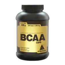 BCAAS Peak BCAA CAPS 1000 мг