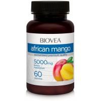 AFRICAN MANGO 5000 mg, 60 капсули - за контрол на теглото и апетита - срок на годност - 30.10.2020г.