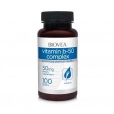 VITAMIN B-50 COMPLEX 50 mg 100 Tabl - намалява стреса