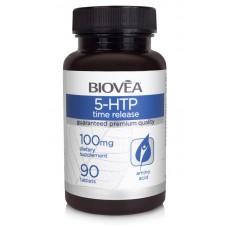 5-HTP (Time Release) 100mg 90 Tablets - успокоява, подобрява настроението и съня