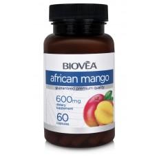 AFRICAN MANGO 600mg 60 капсули - за контрол на теглото и апетита