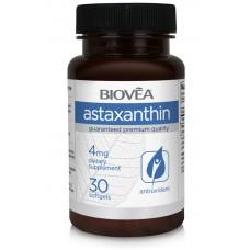 ASTAXANTHIN 4mg 30 софтгел капсули - мощен каротеноид, предпазва от оксидативния стрес, засилва имунната истема