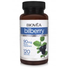 BILBERRY 90mg 120 Capsules - за здравето на очите