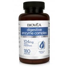 DIGESTIVE ENZYME COMPLEX 104mg 180 Capsules - подобрява храносмилането