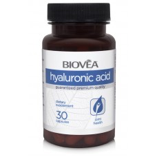 HYALURONIC ACID 40mg 30 Capsules - укрепва ставите и хрущяла, против стареене и бръчки - срок на годност - 30.10.2020г.