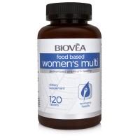 WOMEN'S MULTI (FOOD BASED) 120 Tablets - специално за жени за оптимално здраве