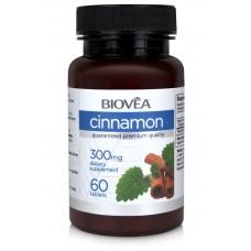 CINNAMON (Organic) 300mg 60tabs - за здрава сърдечно-съдова система и нормални нива на кръвната захар